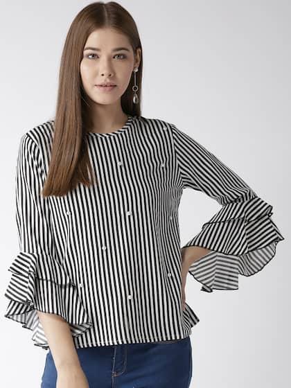 c2bbdb417d788 Style Quotient Stripe Topwear - Buy Style Quotient Stripe Topwear ...