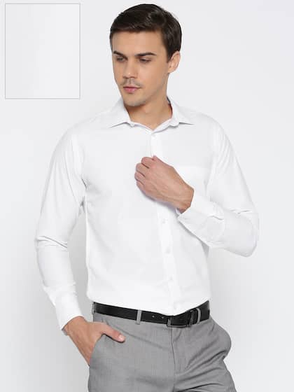 38912030aa452 Formal Shirts for Men - Buy Men's Formal Shirts Online | Myntra