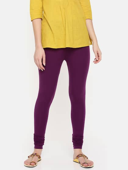 3c09d84338 Purple Leggings - Buy Purple Leggings online in India