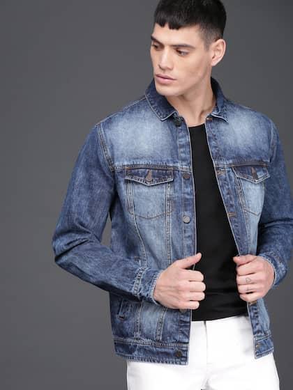 112218a9 Washed Blue Denim Jackets - Buy Washed Blue Denim Jackets online in ...