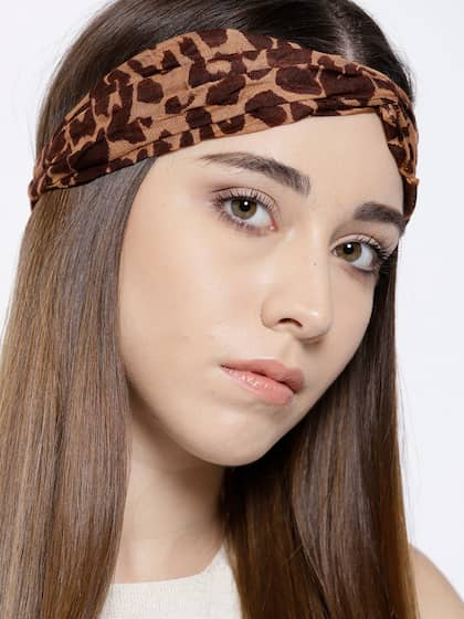 Tarbiya Kraft. Women Leopard-Print Hairband