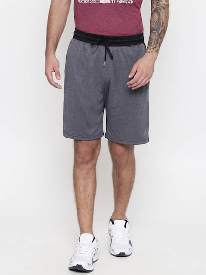 Reebok Grey Shorts - Buy Reebok Grey Shorts online in India 6286f7f8e