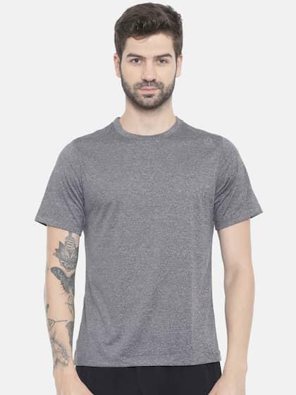 dd16153077 Reebok Men Grey Tshirts - Buy Reebok Men Grey Tshirts online in India
