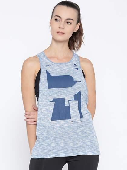 8185943e687e6f Reebok Sleeveless Tshirt Tops - Buy Reebok Sleeveless Tshirt Tops ...