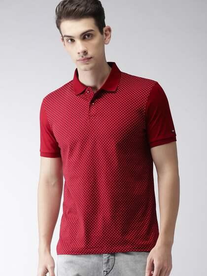 7641ae51 Red Tshirt Tops Tshirts - Buy Red Tshirt Tops Tshirts online in India