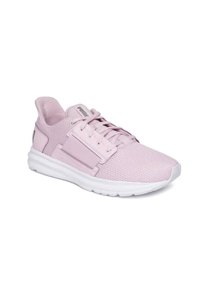 Puma Pink Sports Shoes - Buy Puma Pink Sports Shoes online in India 21f24c199bd8