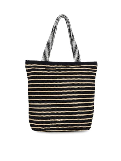 0f3f926bab Women Striped Tote Bags - Buy Women Striped Tote Bags online in India