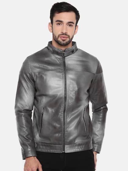 6959f6e72dc56 Leather Jackets - Buy Leather Jacket Online in India