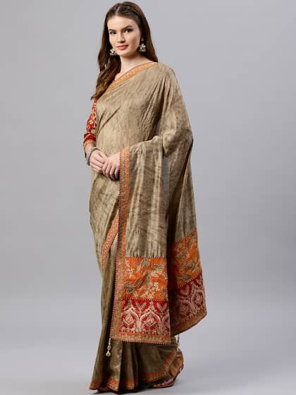 Party Wear Sarees Buy Party Wear Sarees Online Myntra