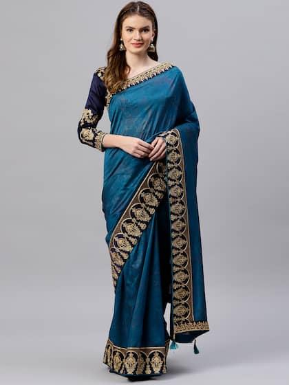 e59292f2ef Party Wear Sarees - Buy Partywear Sari Online in India