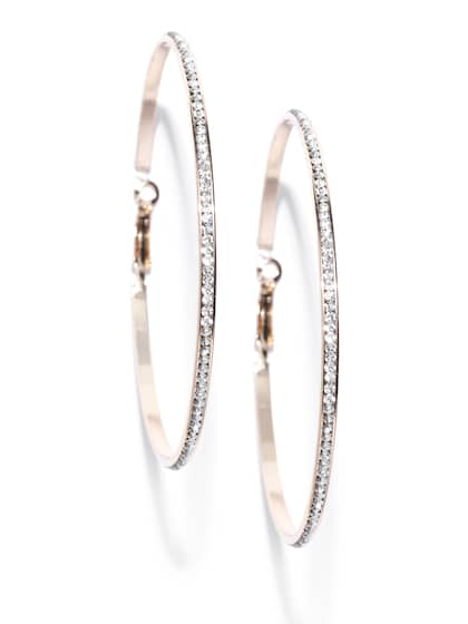 f2e0196508bd6 Hoop Earrings - Buy Hoop Earrings Online For Women & Girls | Myntra