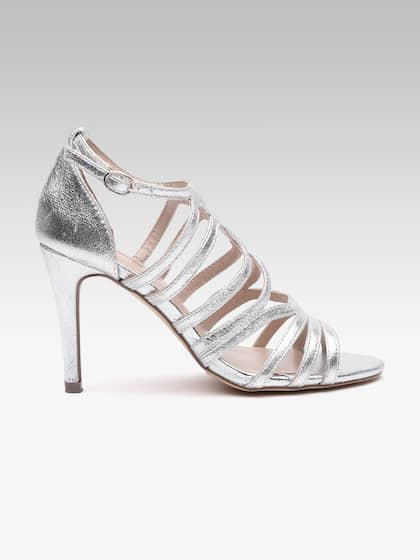 3473ad9bbec Silver Heels - Buy Silver Heels Online in India