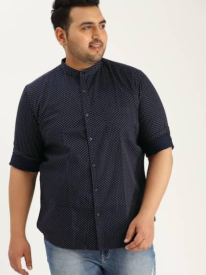 e36033be9fd Size. Sztori Men Navy Blue   Beige Slim Fit Printed Casual Shirt