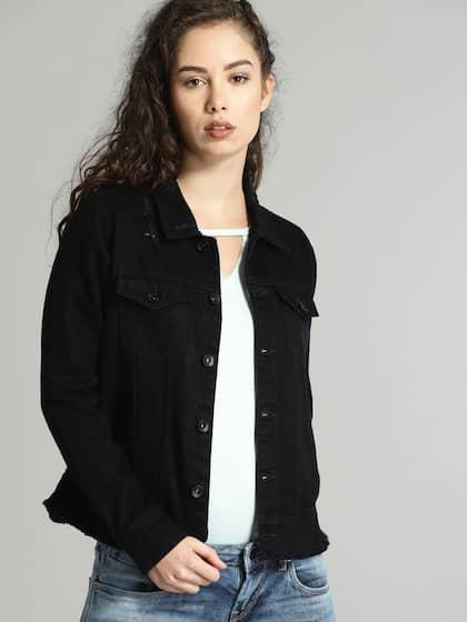 cbde70ae965 Women Denim Jacket - Buy Women Denim Jacket online in India
