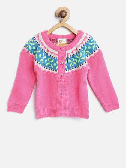 f854a119a356c Girl s Sweaters - Buy Sweaters for Girls Online in India