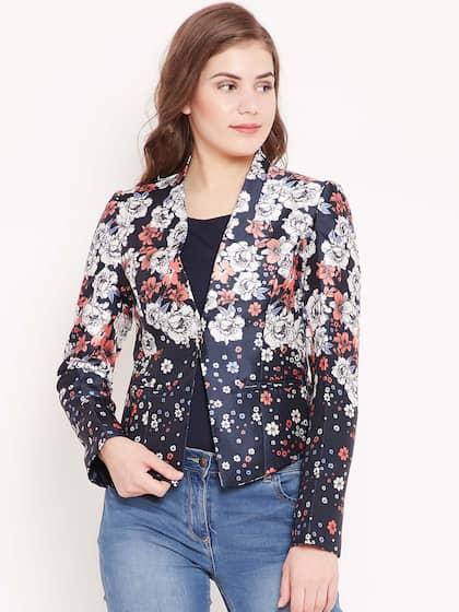 7595f2df6e41 Women Blazers Online - Buy Blazers for Women in India