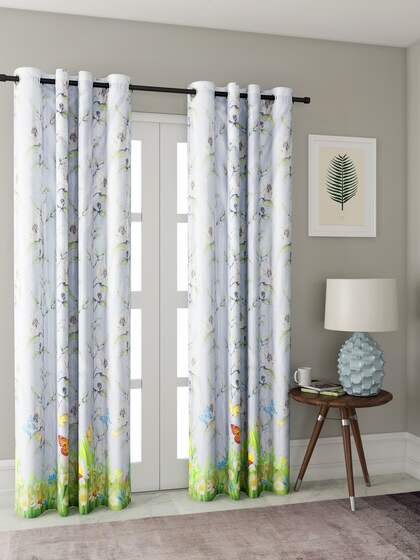 Curtains Buy Window Curtains Door Curtains Online Myntra