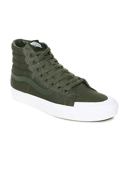 4dfa6f5bb2 Vans Olive Shoes - Buy Vans Olive Shoes online in India