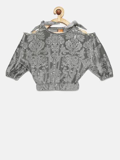 0407bd9269 Girls Tops - Buy Stylish Top for Girls Online in India