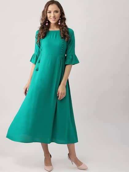 Green Party Dresses for Women