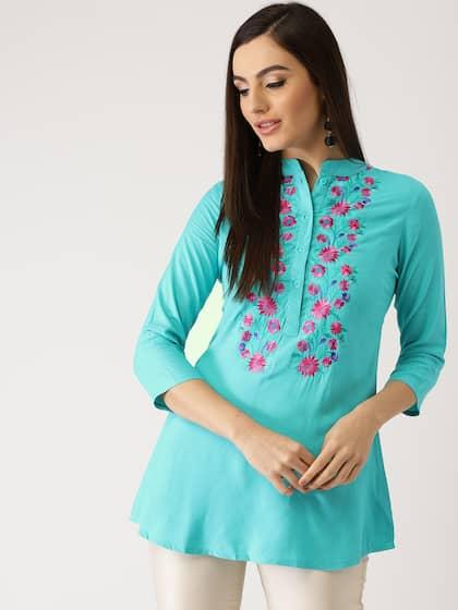 e6f68d6bf69f1 Short Kurtis - Buy Short Kurti For Women Online in India