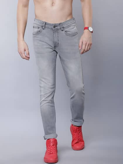 00af98be6b8b61 Grey Jeans - Buy Grey Jeans Online in India