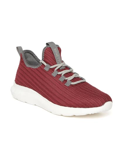 promo code 42fb3 2cfa4 United Colors of Benetton. Men Woven Design Sneakers