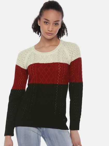 7bcf583c80 Park Avenue Woman Sweaters - Buy Park Avenue Woman Sweaters online ...