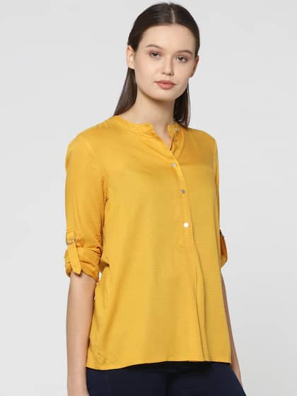 cb72d7980125b Only Yellow Tops - Buy Only Yellow Tops online in India