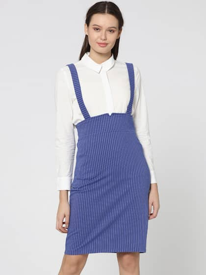 3f592dd4d0 Pinafore Dress - Buy Pinafore Dresses Online in India | Myntra
