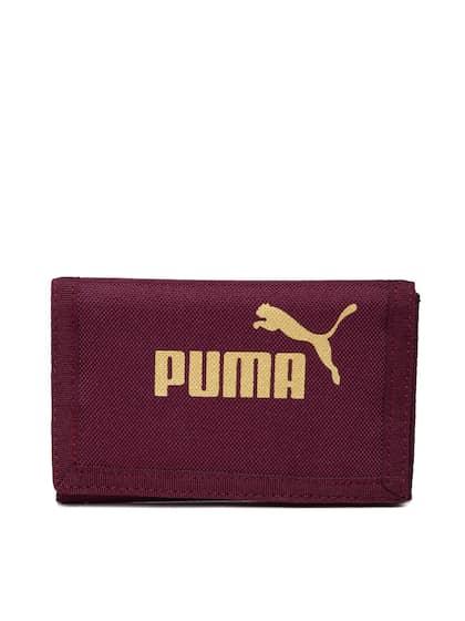 399f2370ae Puma Women Purple Solid Three Fold Wallet