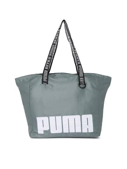 Puma Grey Solid Shoulder Bag