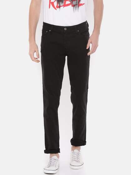 f924f96b1e4877 Jack   Jones Black Jeans - Buy Jack   Jones Black Jeans online in India