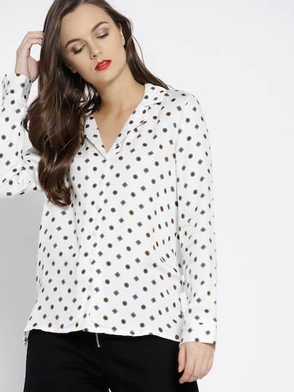 c60ad42a5 Women Shirts - Buy Shirts for Women Online in India | Myntra