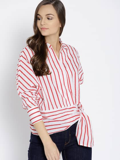 694d26f4b0 Ladies Tops - Buy Tops & T-shirts for Women Online | Myntra