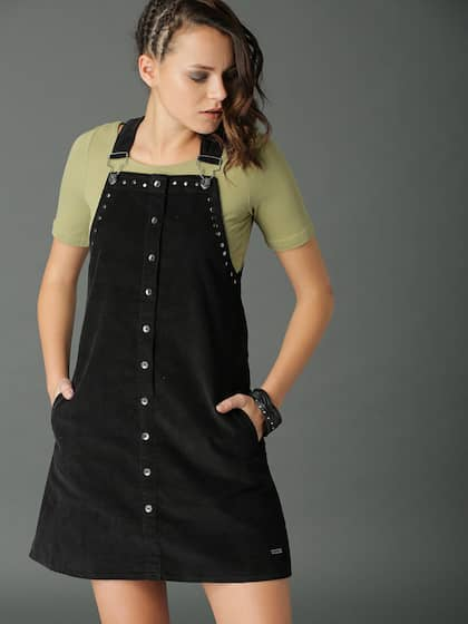 Pinafore Dress Buy Pinafore Dresses Online In India Myntra