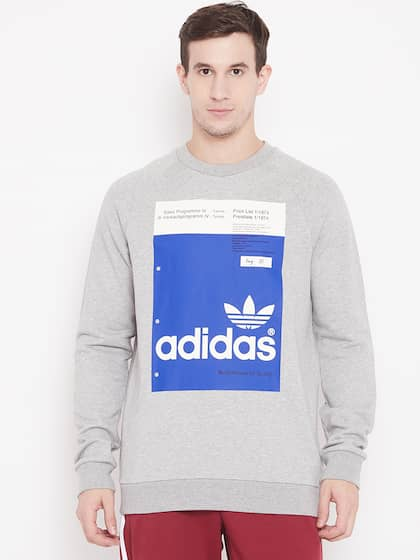 9a934cf50d Adidas Sweatshirt - Buy Adidas Sweatshirts Online | Myntra