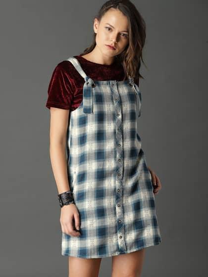 77849c10c63 Pinafore Dress - Buy Pinafore Dresses Online in India