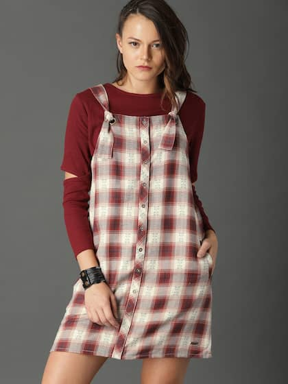 d90fb62db212 Pinafore Dress - Buy Pinafore Dresses Online in India | Myntra