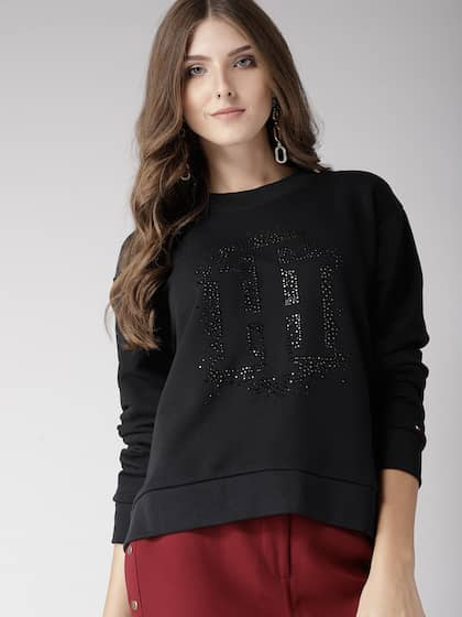 28e038eef3 Tommy Hilfiger Women Sweatshirts - Buy Tommy Hilfiger Women ...