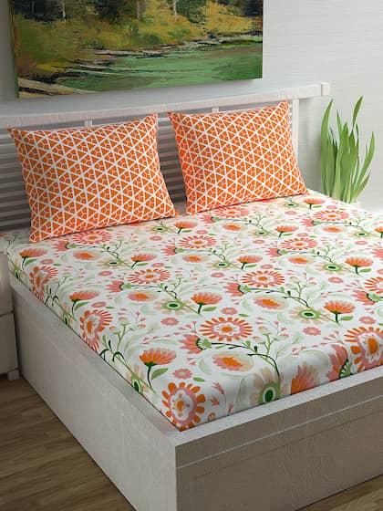 Bedsheets Buy Double Single Bedsheets Online In India Myntra