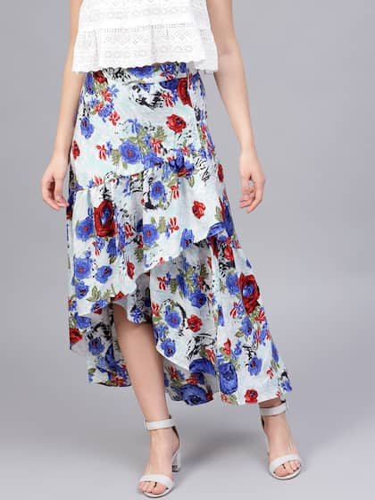 22e9a40a7 Skirts for Women - Buy Short, Mini & Long Skirts Online - Myntra