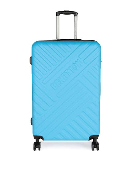 United Colors Of Benetton Uni Blue Large Strolley Suitcase