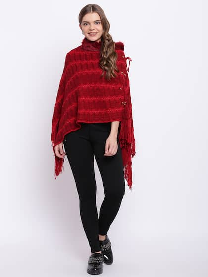 1f0e7b9642004 Poncho - Exclusive Poncho Online Store in India at Myntra
