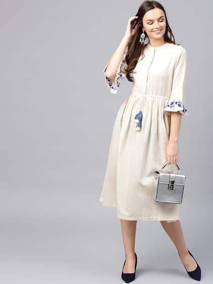 408c3a05c717 Midi Dresses - Buy Midi Dresses online in India