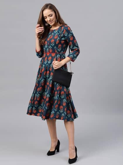 7f0bdb58 Dresses - Buy Western Dresses for Women & Girls   Myntra