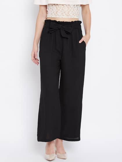 c37b233a27f2b Women's Trousers - Shop Online for Ladies Pants & Trousers in India ...