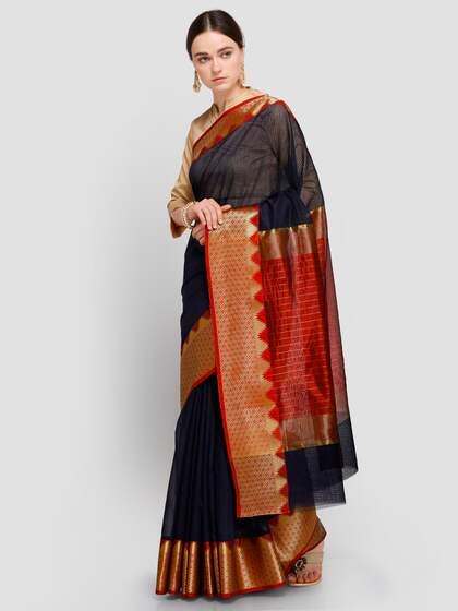 16ca46ae747b7a Chanderi Sarees - Buy Chanderi Sarees Online in India