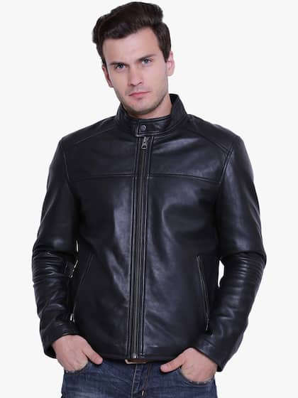 Leather Jackets Buy Leather Jacket Online In India Myntra