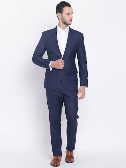 81ca7305a9d69 Suits for Men - Buy Men Suit & Blazer Online | Myntra